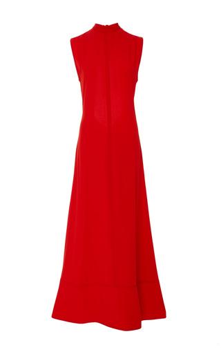 Medium marni red crepe maxi dress