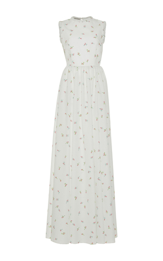 Medium emilia wickstead white herbe floral gown