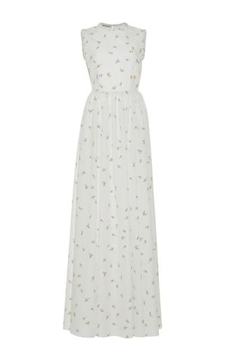 Medium emilia wickstead white herbe floral gown