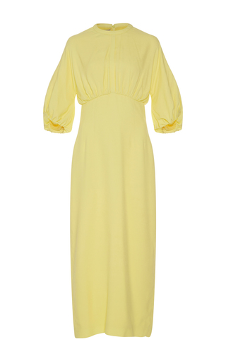 Medium emilia wickstead yellow ligia pencil dress