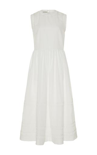 Medium emilia wickstead white darcia a line dress