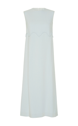 Medium emilia wickstead green adelia sleeveless dress