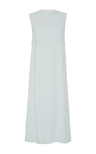 Medium emilia wickstead green adelia sleeveless dress