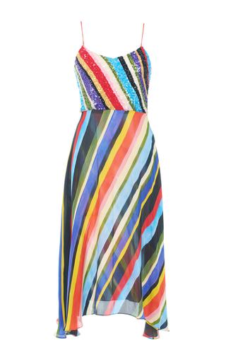 Medium tata naka print beaded camisole sun dress