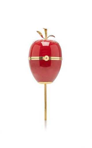 Medium ines figaredo red caramel apple handbag
