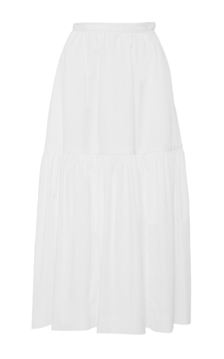 Medium jill stuart white violet high waist skirt