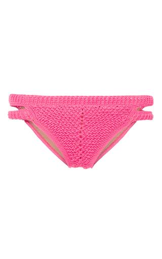 Medium helen rodel pink bridge bikini bottom