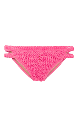 Medium helen rodel pink bridge bikini bottom