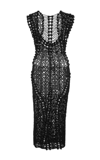 Medium helen rodel black penelope pencil dress