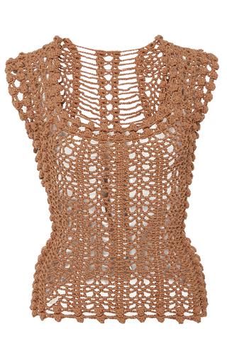 Medium helen rodel brown penelope knit tank