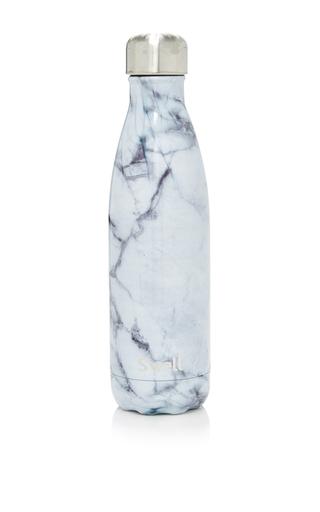 Medium s well white white marble reusable bottle 17oz
