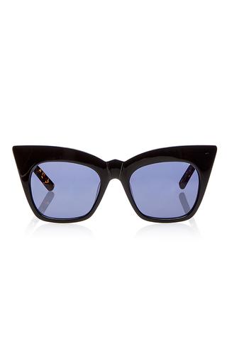 Medium pared eyewear black kohl kaftan sunglasses