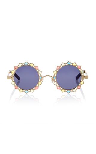 Medium pared eyewear multi moon stars sunglasses