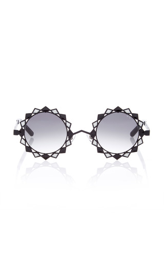 Medium pared eyewear black moon stars sunglasses 2