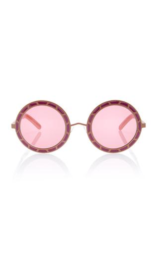 Medium pared eyewear pink sunny cher sunglasses