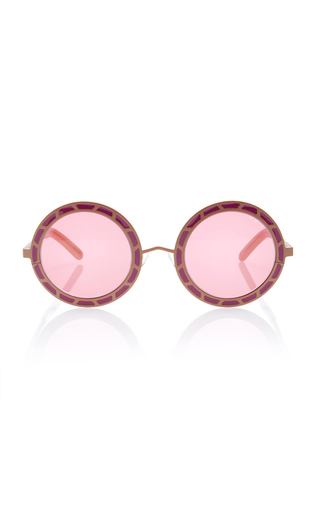 Medium pared eyewear pink sunny cher sunglasses