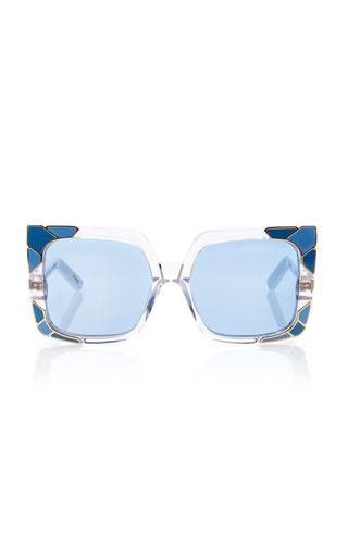 Medium pared eyewear clear sun shade sunglasses