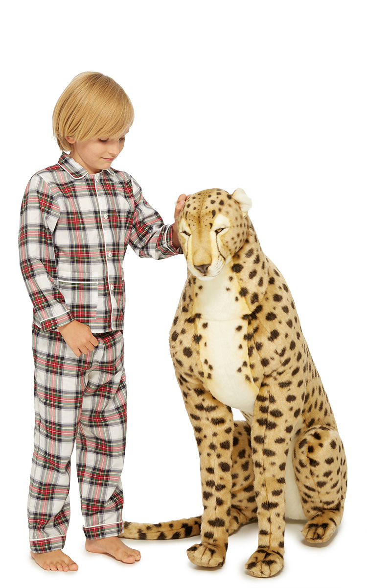 Life Size Cheetah Plush Toy By Hansa Toys Moda Operandi