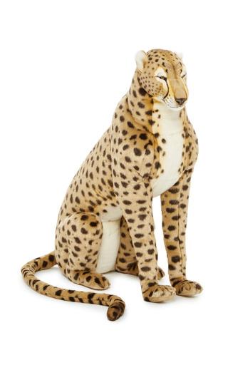 Medium hansa toys tan life size cheetah