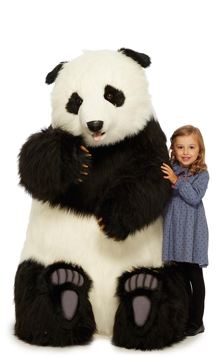 Giant Panda Plush Toy By Hansa Toys Moda Operandi