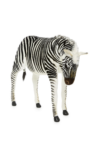 Medium hansa toys multi zebra jacquard 2