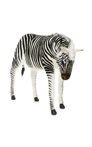 Medium hansa toys multi zebra jacquard 2