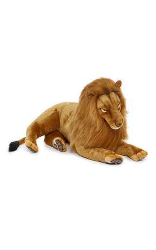 Medium hansa toys tan extra large lion