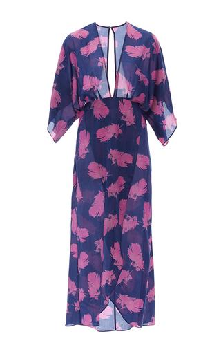 Medium jaline print kelly raglan sleeve dress