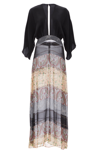 Medium jaline black kate raglan sleeve maxi dress