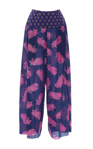 Medium jaline print beverly gaucho pants