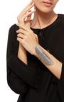 Lamellae Large Cuff In Black Rhodium by GEORG JENSEN X ZAHA HADID for Preorder on Moda Operandi