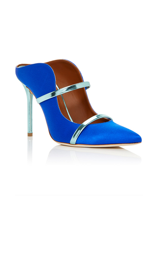 Medium malone souliers blue maureen mule 2
