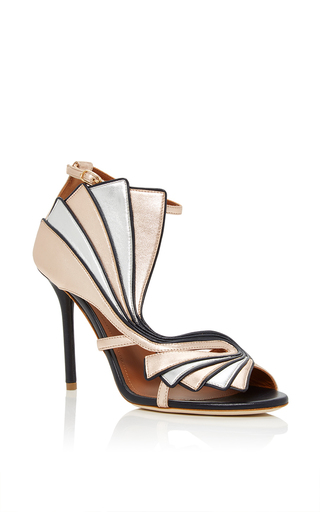 Medium malone souliers rose gold rosie sandal