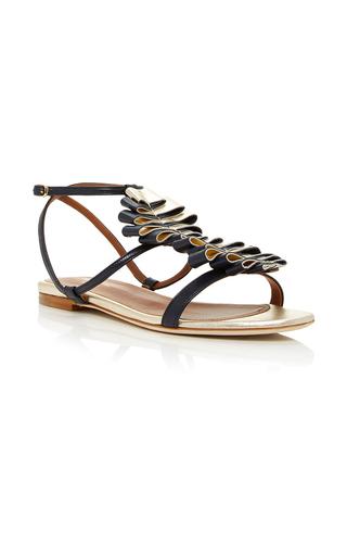 Medium malone souliers navy audrey sandal 2