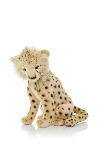 Medium hansa toys tan cheetah cub