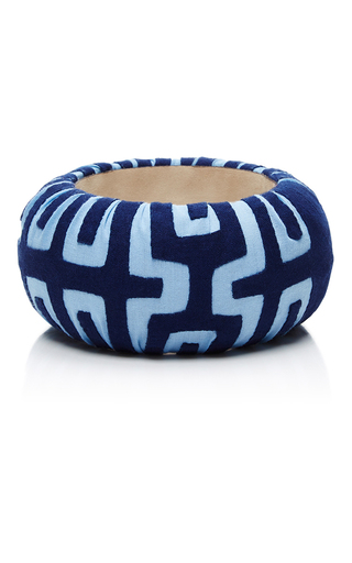 Medium mola sasa blue blue large bangle