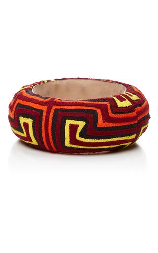 Medium mola sasa multi multicolored geometric bangle