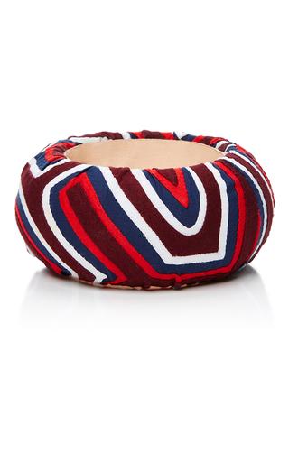 Medium mola sasa multi multicolored geometric large bangle