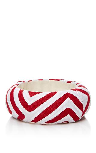 Medium mola sasa red red and white printed medium bangle