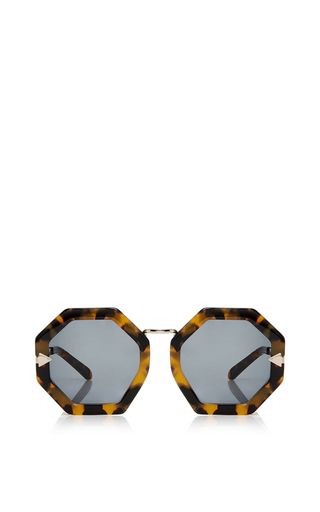 Medium karen walker brown moon disco sunglasses