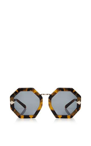 Medium karen walker brown moon disco sunglasses