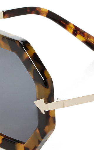 Moon Disco Sunglasses by KAREN WALKER Now Available on Moda Operandi
