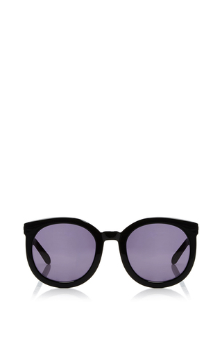 Medium karen walker black super duper strength sunglasses