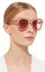 One Astronaut Sunglasses by KAREN WALKER Now Available on Moda Operandi