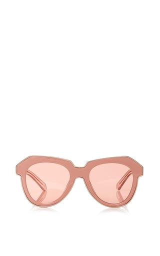 Medium karen walker pink one astronaut sunglasses
