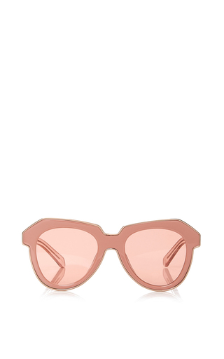 Medium karen walker pink one astronaut sunglasses