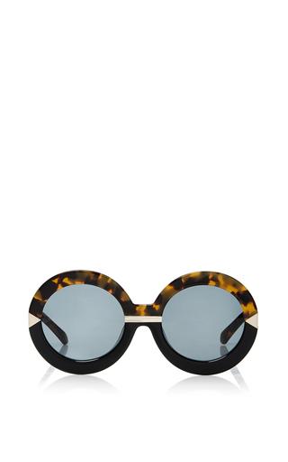 Medium karen walker brown hollywood pool sunglasses