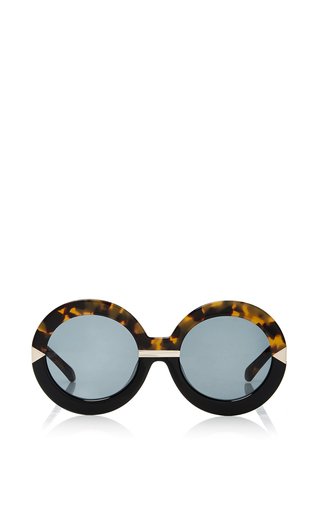 Medium karen walker brown hollywood pool sunglasses