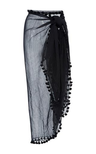 Medium rujuta sheth black black pom pom sarong
