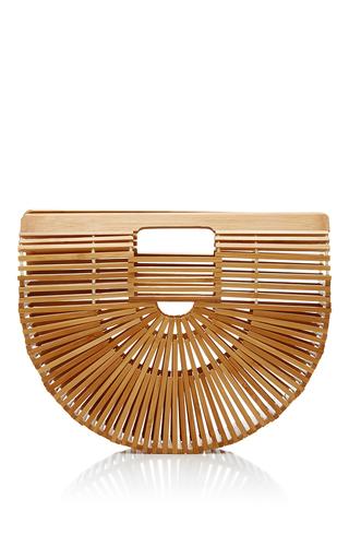 Medium cult gaia tan small bamboo ark bag